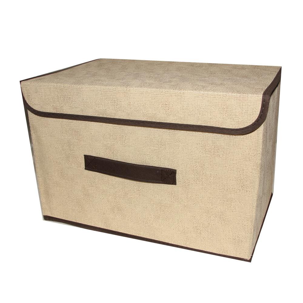 4 Caixas Organizadora Rígida Armário Close 36x24x24 AM-1595-4