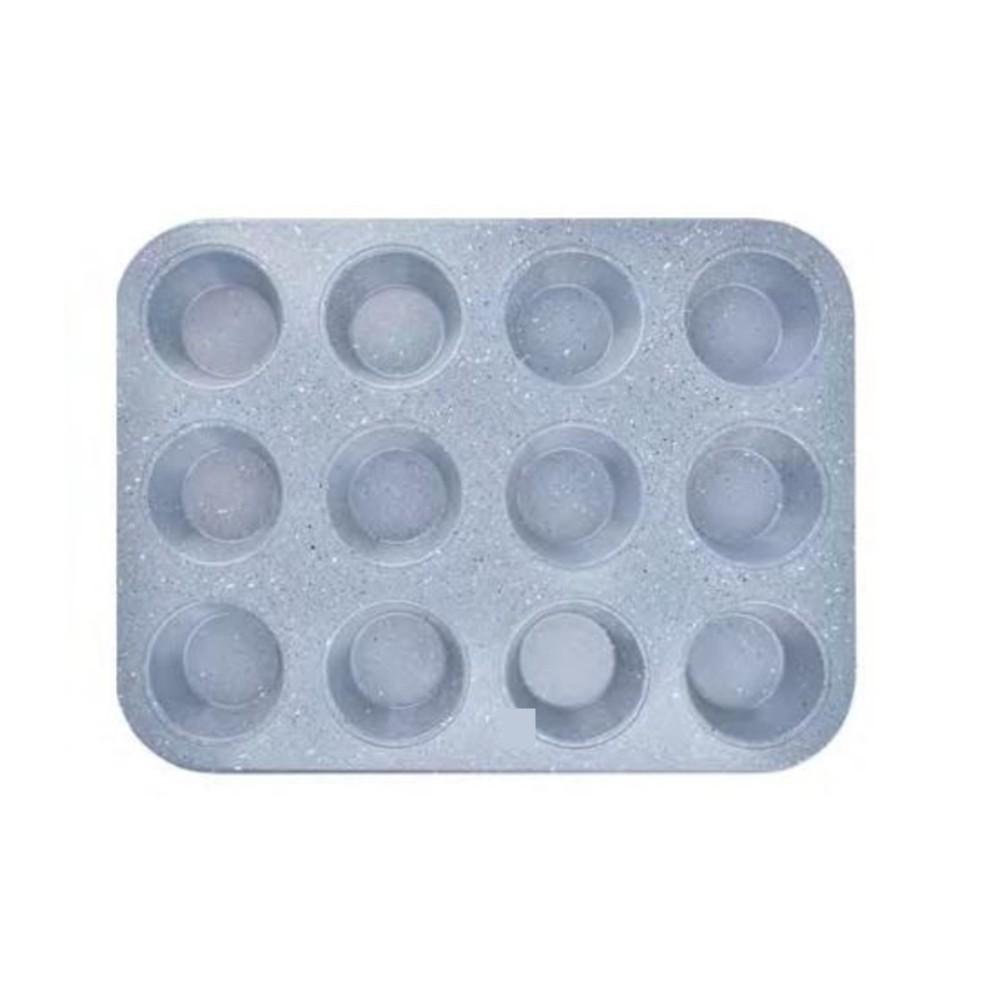 4 Formas De Cupcake 12 Cavidades Antiaderente Teflon Ingá IN13041-4