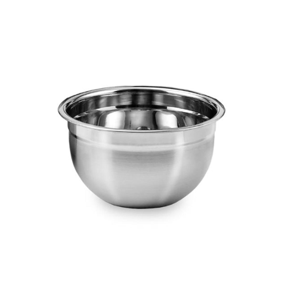 4 Tigelas Mixing Bowl em aço Inox 22 Cm Ke Home 3116-22-4