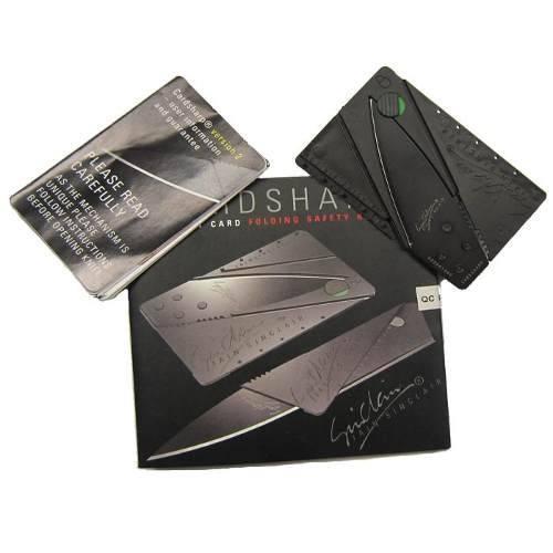 Cardsharp Faca Cartão Canivete Dobrável Discreto 06-0220