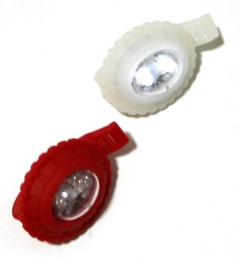 5 Kits Bike Segurança Lanterna Com Led Dianteiro Traseira 3086