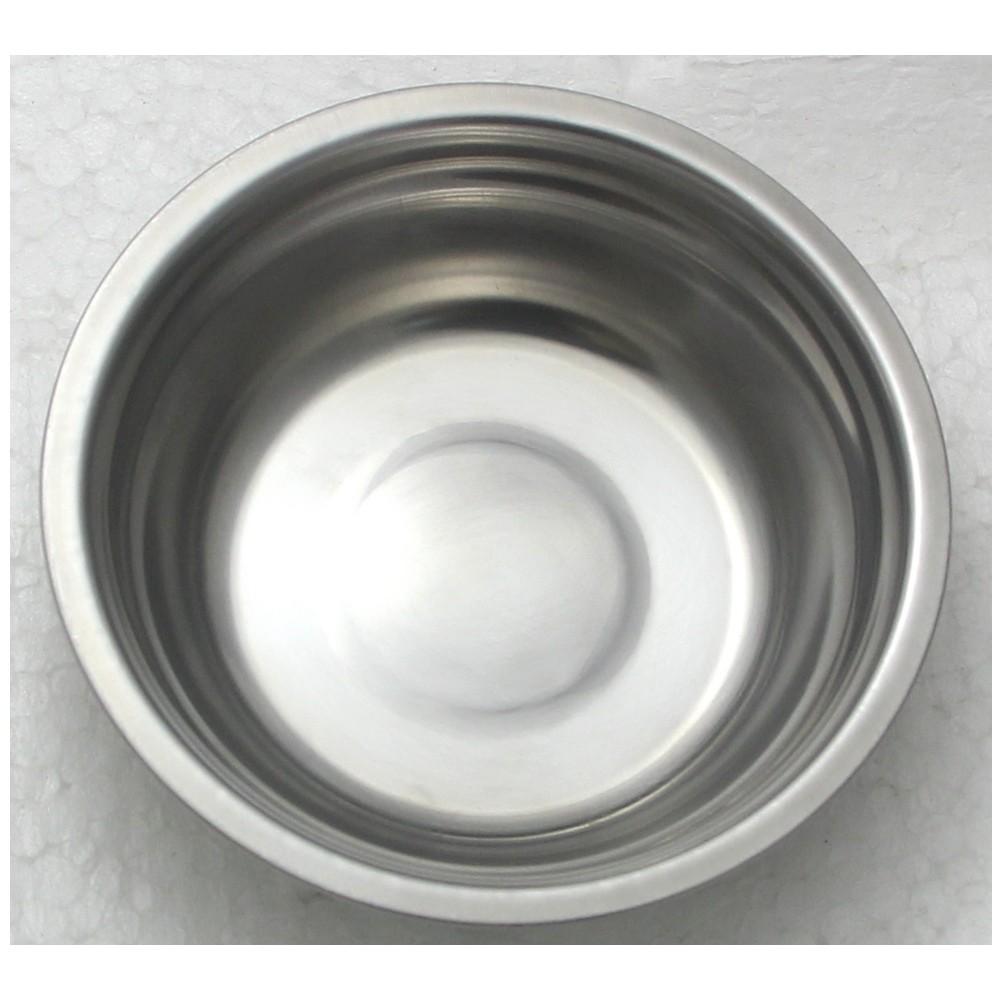 5 Tigela Redonda Bacia em aço Inox 25cm Elite ELB0552-5