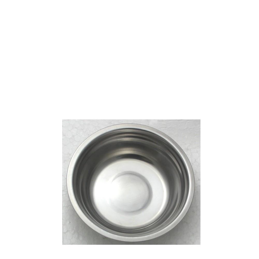 5 Tigelas Redonda Cumbuca em aço Inox 13cm Elite ELB0546-5