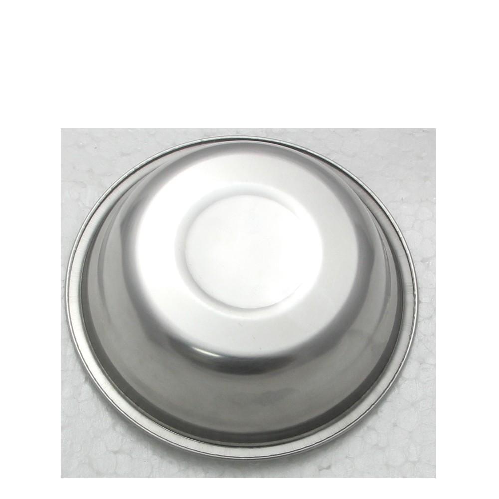 5 Tigelas Redonda Cumbuca em aço Inox 17cm Elite ELB0548-5