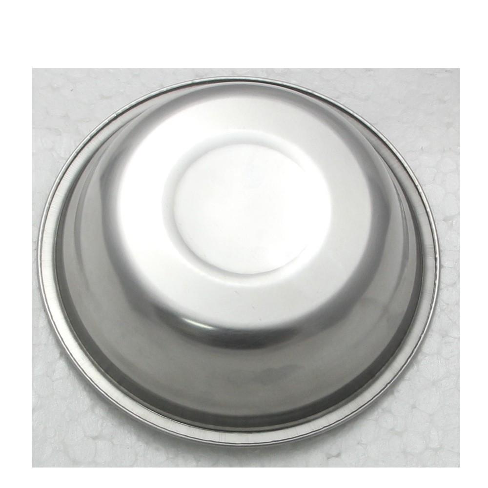 5 Tigelas Redonda Bacia em aço Inox 21cm Elite ELB0550-5