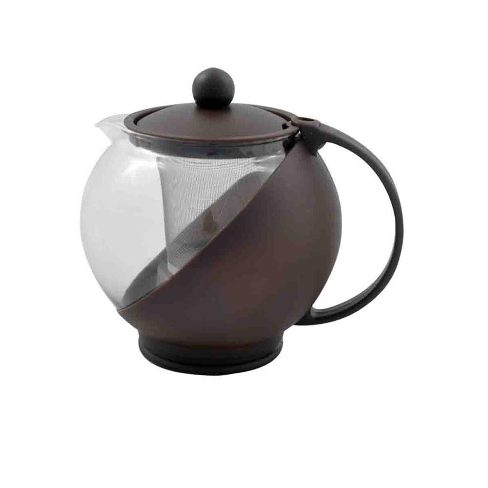 6 Bules Chaleira Vidro com Infusora de Chá filtro 1250ml Casita CA11080-6