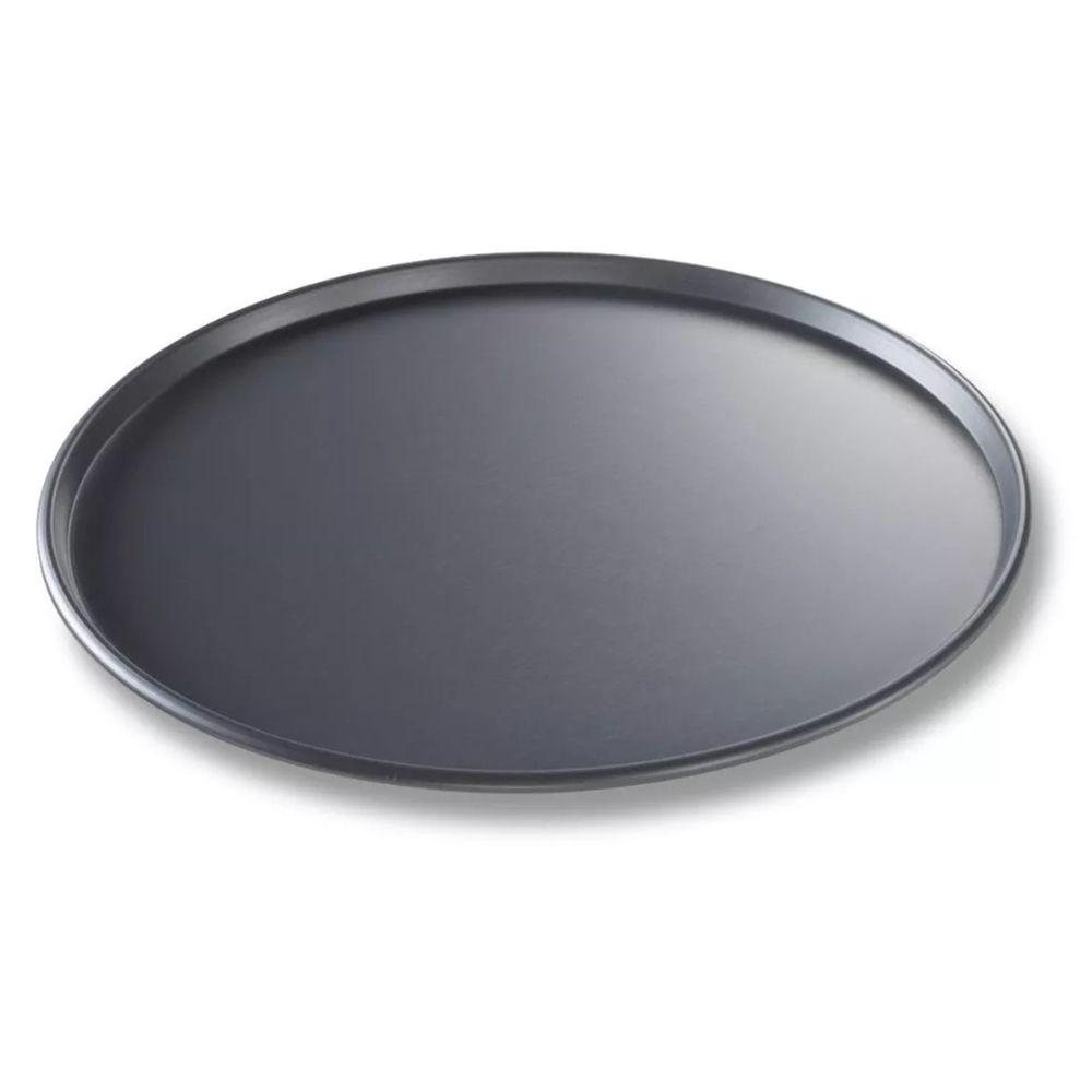 6 Formas Pizza Antiaderente Assadeira 31,5cm em aço carbono Casita SL11S003-6