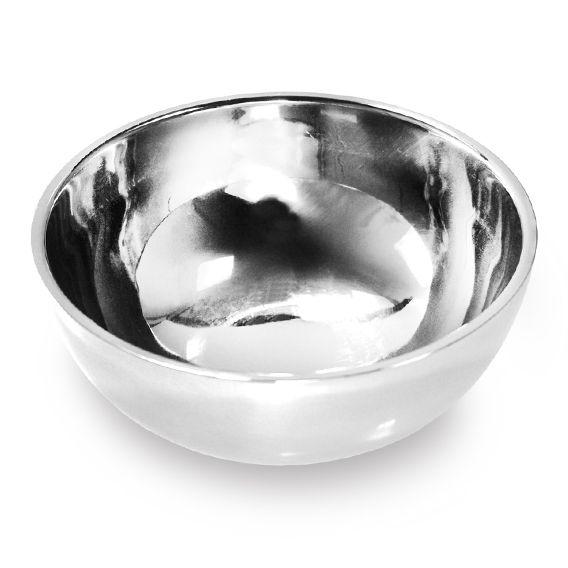 6 Tigelas Camada Dupla em aço Inox 14,5 Cm Cumbuca Ke Home 5825-6