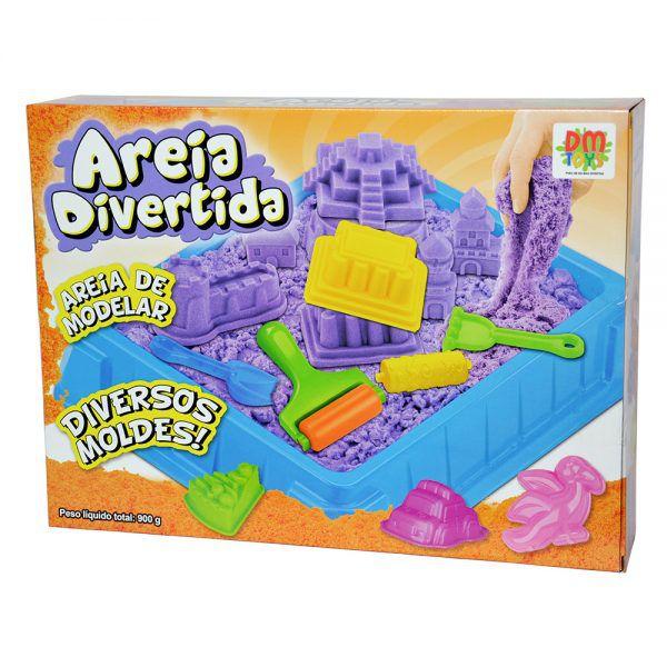 Areia Divertida Bolos Inifantil DM Toys DMT5119