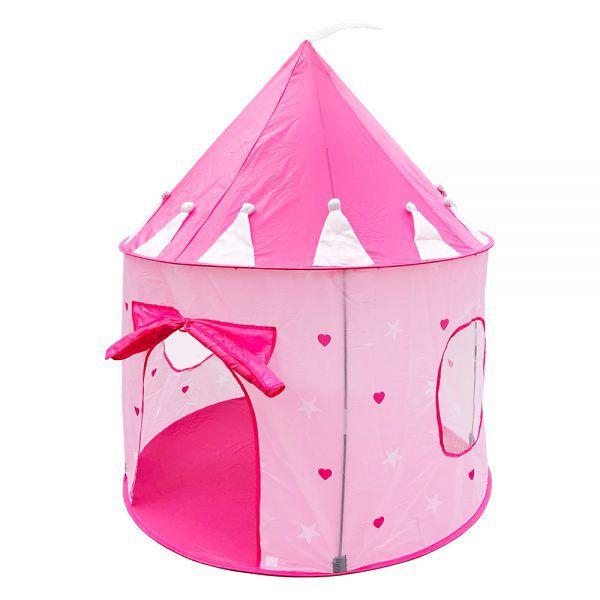 Barraca Castelo das Princesas toca tenda infantil DM Toys DMT5390