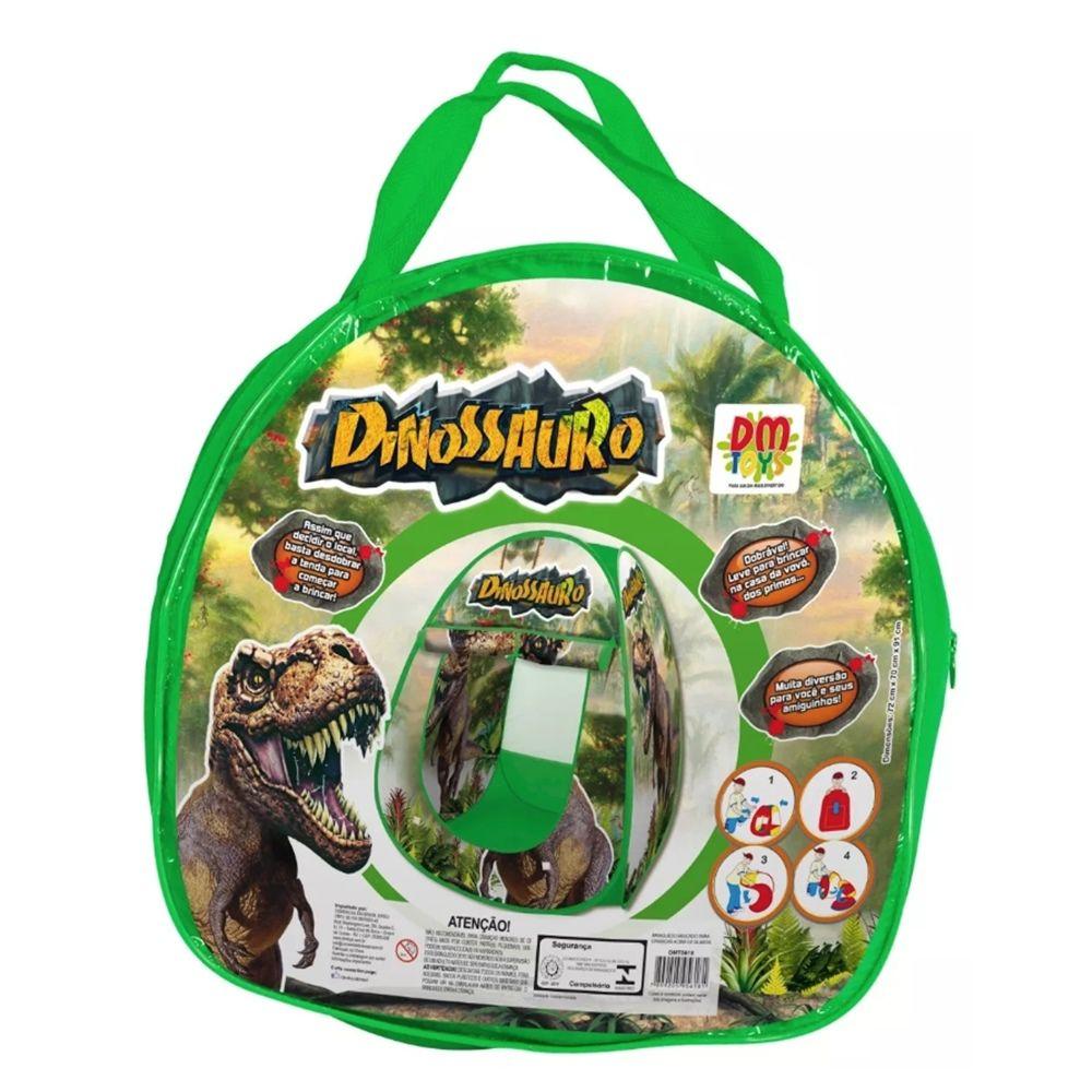 Barraca do Dinossauro Inifantil DM Toys DMT5618