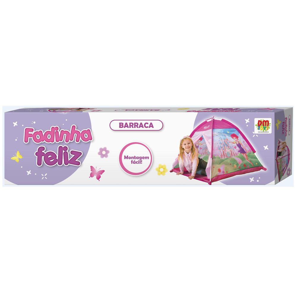 Barraca Fadinha Feliz infantil tenda toca leitura DM Toys DMT5654