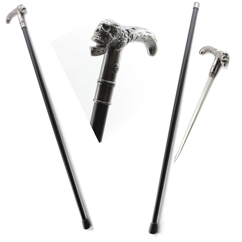 Bengala Com Espada Caveira com apoio DS7178