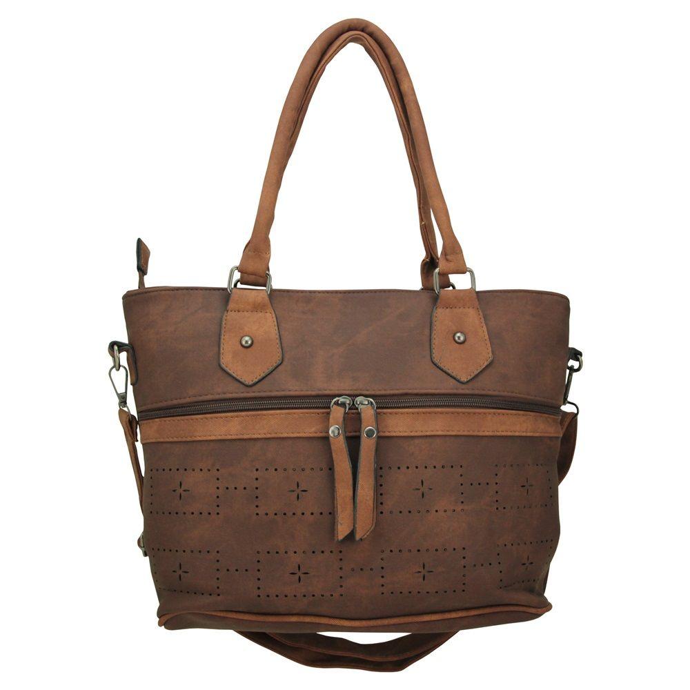 Bolsa Feminina 2 Alças Transversal e de mão tiracolo 3681#