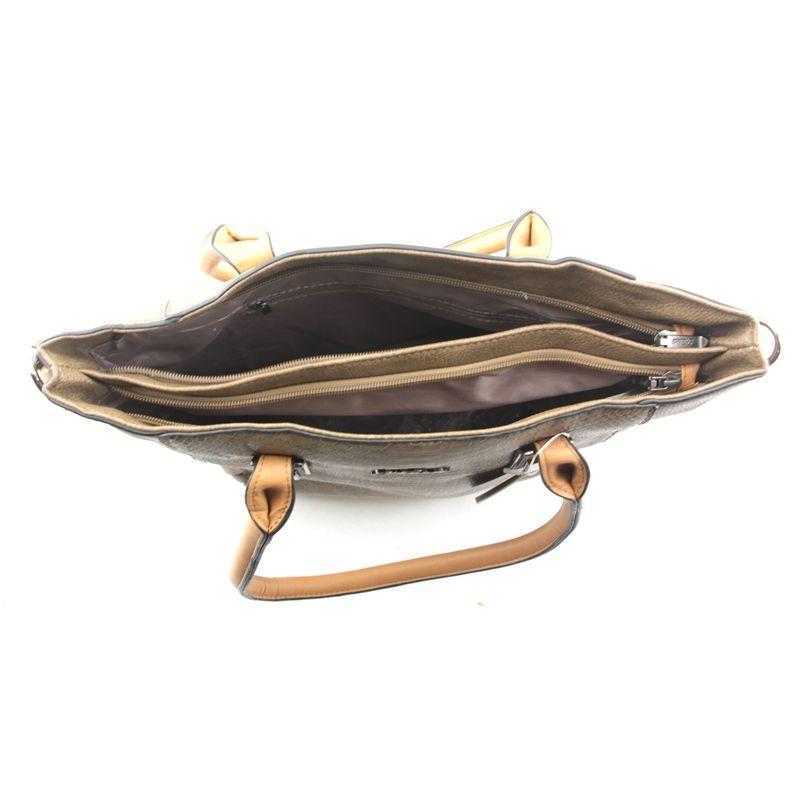 Bolsa Feminina 2 Alças Transversal e de mão tiracolo HD9018-E