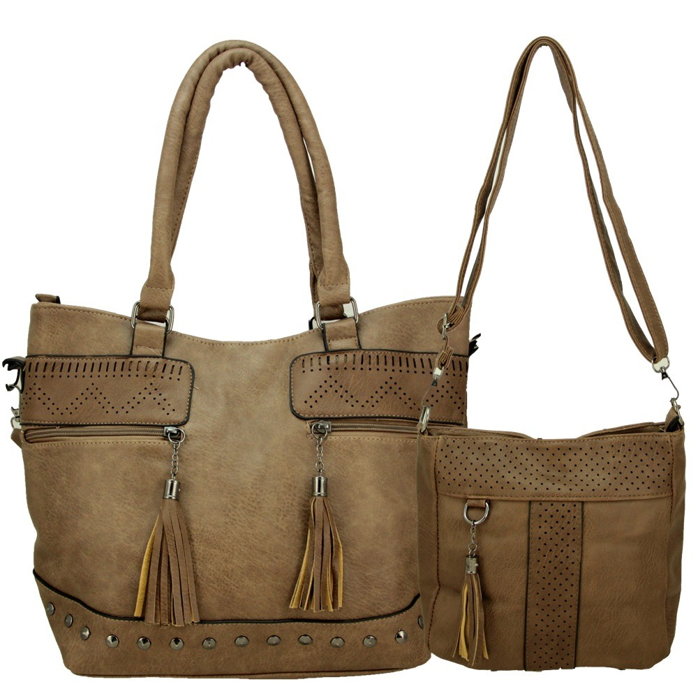 Bolsas Femininas kit com 2 , Alça Transversal e De Mão L920