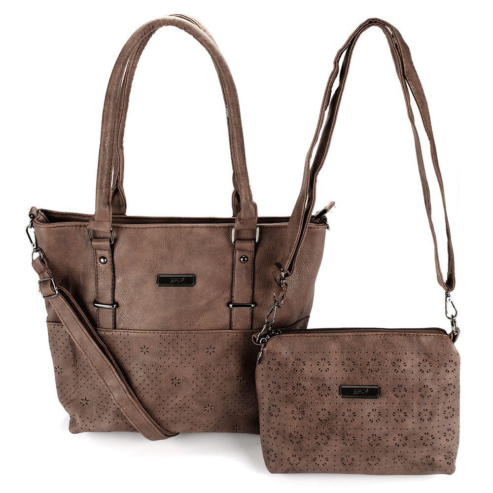 Bolsas Femininas kit com 2 Bolsa com Alça Transversal L8629