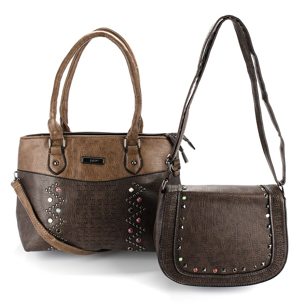 Bolsas Femininas kit com 2 Bolsa linda com Alça Transversal L8033
