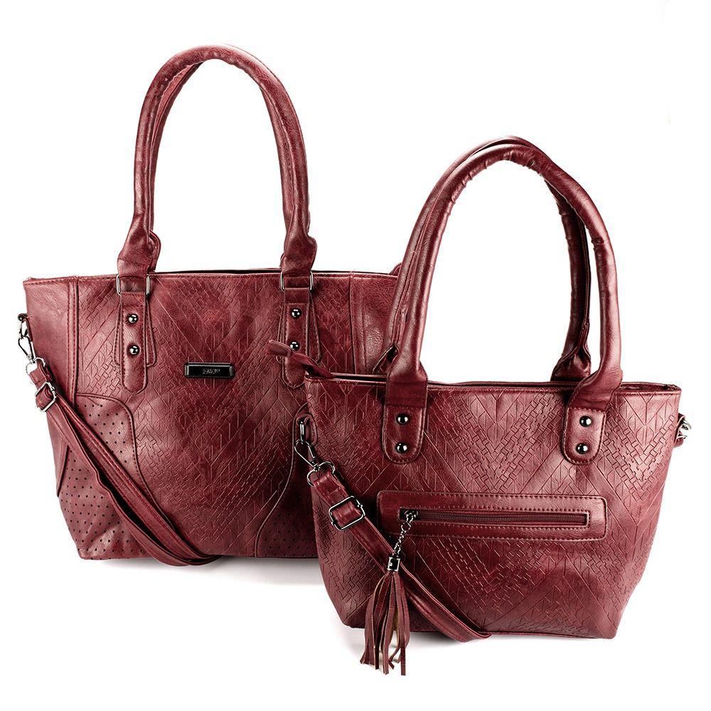 52d4284c3 Bolsas Femininas kit com 2 Bolsa linda com Alça Transversal L8657 - MMS  Shop ...