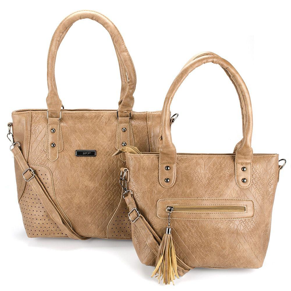 Bolsas Femininas kit com 2 Bolsa linda com Alça Transversal L8657