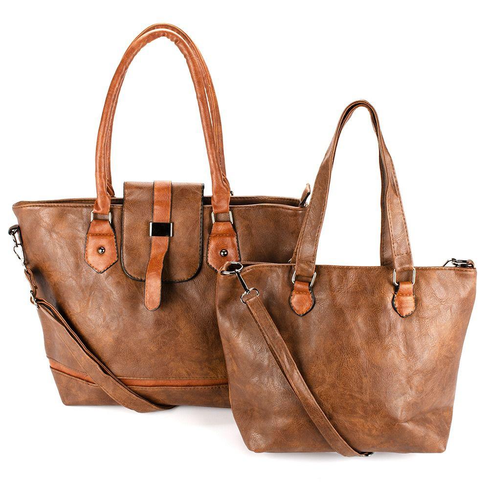 Bolsas Femininas kit com 2 Bolsa linda com Alça Transversal L8658#