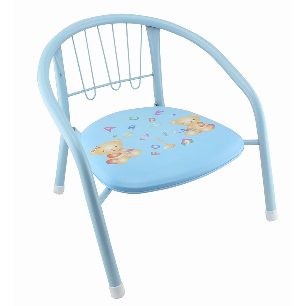 Cadeira pequena infantil criança acento almofadado com buzina Clink CK646