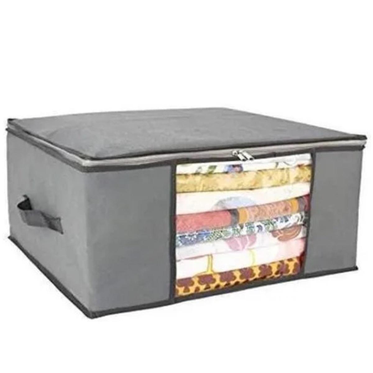 Caixa Organizadora Flexivel de Tecido 60X45 AmiGold - AM-1596