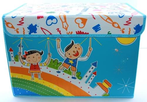 Caixa Organizadora Rígida Infantil para brinquedos armários 6579