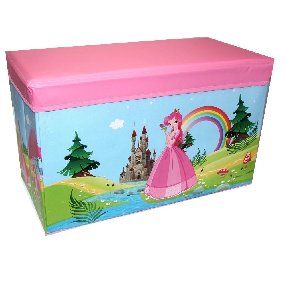 Caixa Organizadora Rígida Infantil para brinquedos Pufe CA20005