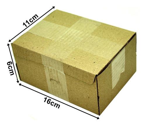 Caixa Papelão Correio Sedex Pac 16x11x6 Montável 100 Caixas
