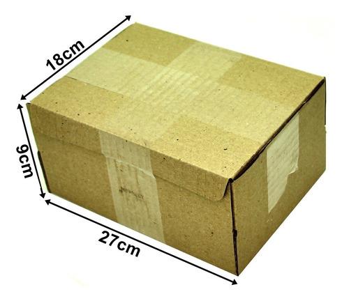 Caixa Papelão Correio Sedex Pac 27x18x9 Montável 25 Caixas