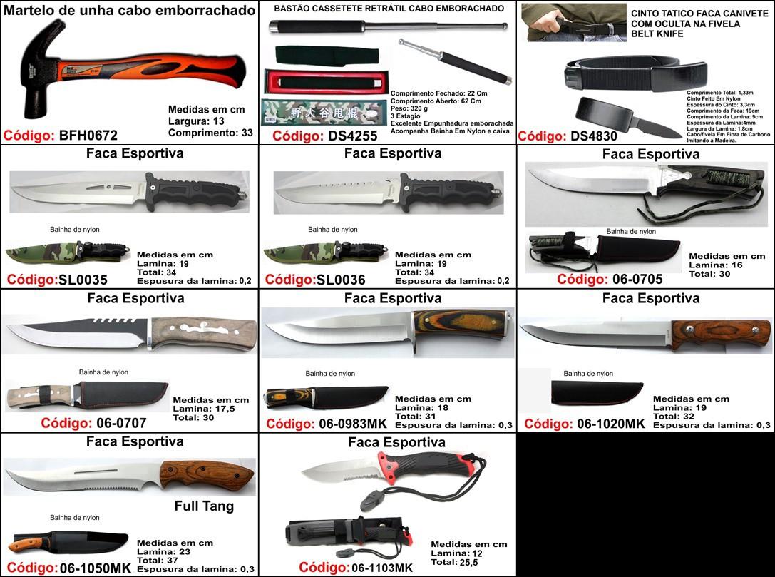 canivete base G unidade