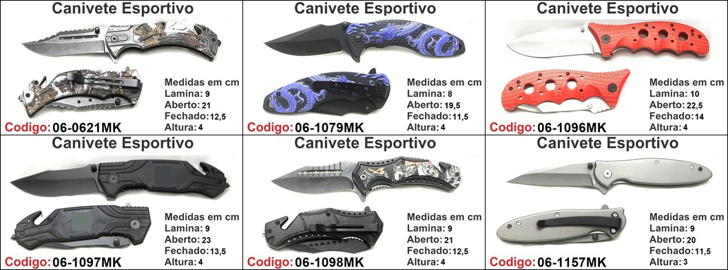 canivete base M unidade