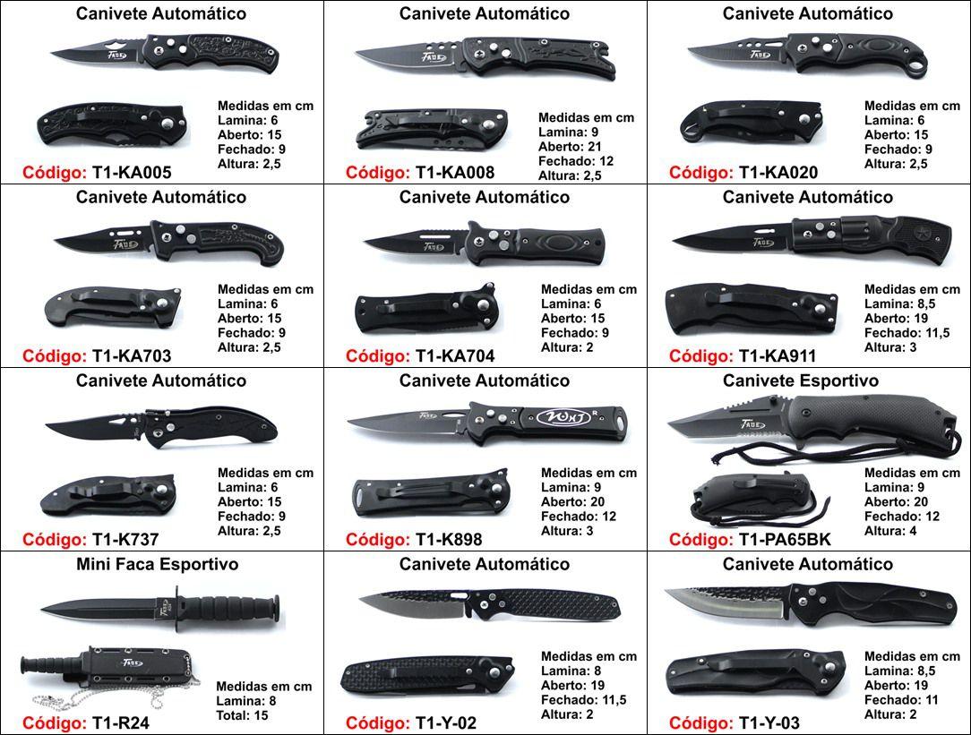 canivete base unidade P