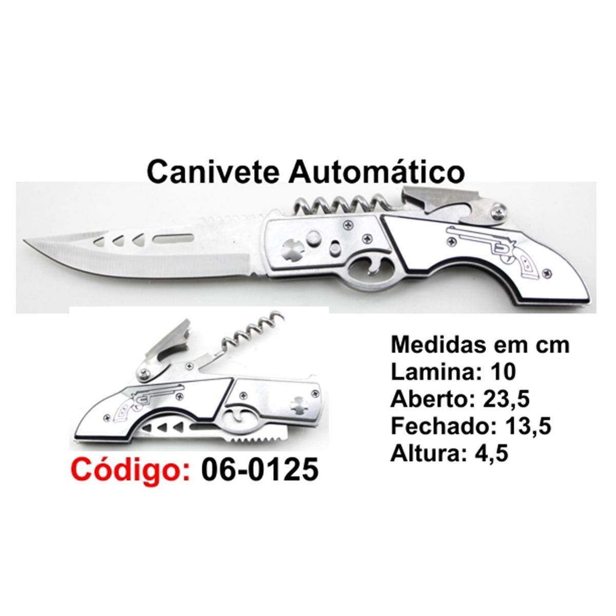 Canivete Esportivo Automático Caça Pesca Etc. 06-0125