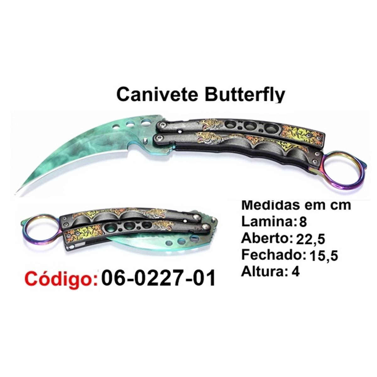 Canivete Esportivo Butterfly Borboleta 06-0227-01