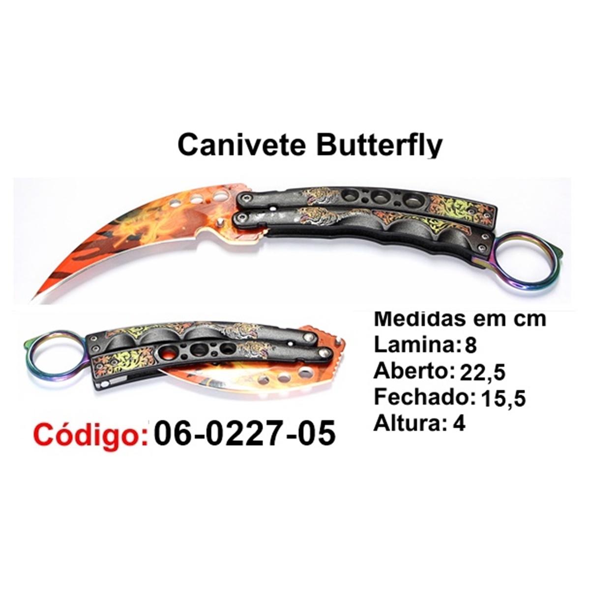 Canivete Esportivo Butterfly Borboleta 06-0227-05