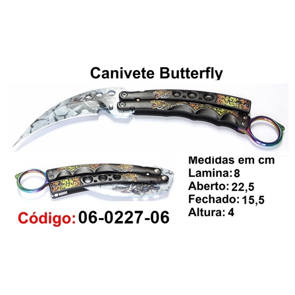 Canivete Esportivo Butterfly Borboleta 06-0227-06