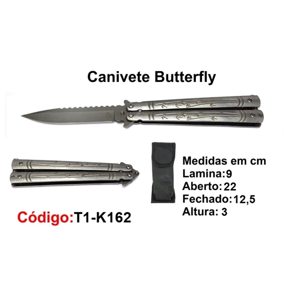 Canivete Esportivo Butterfly Borboleta T1-K162