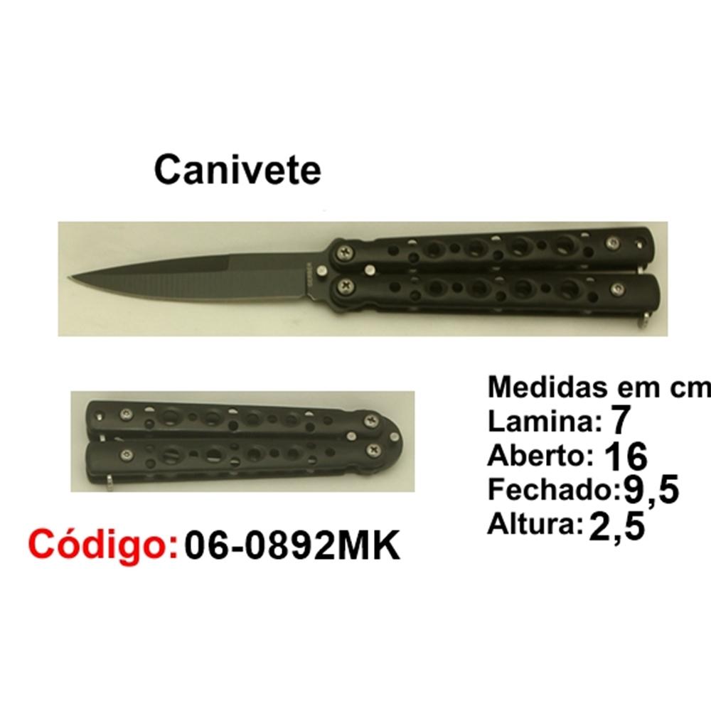 Canivete Esportivo Butterfly Caça Pesca Etc. 06-0892MK