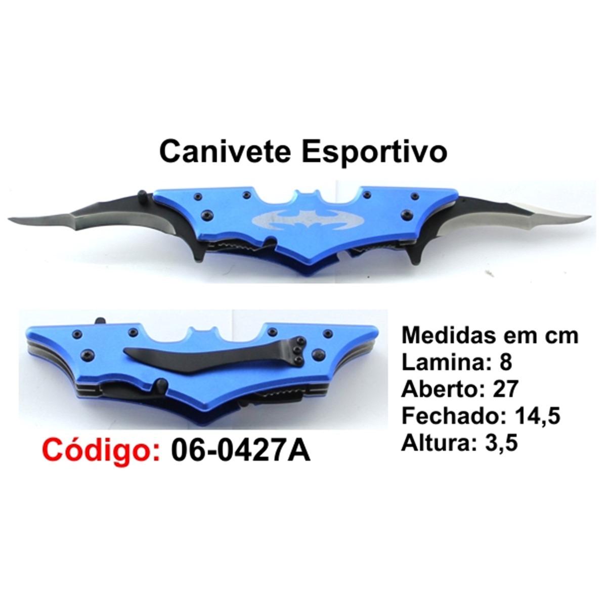 Canivete Esportivo Caça Pesca Etc. 06-0427A