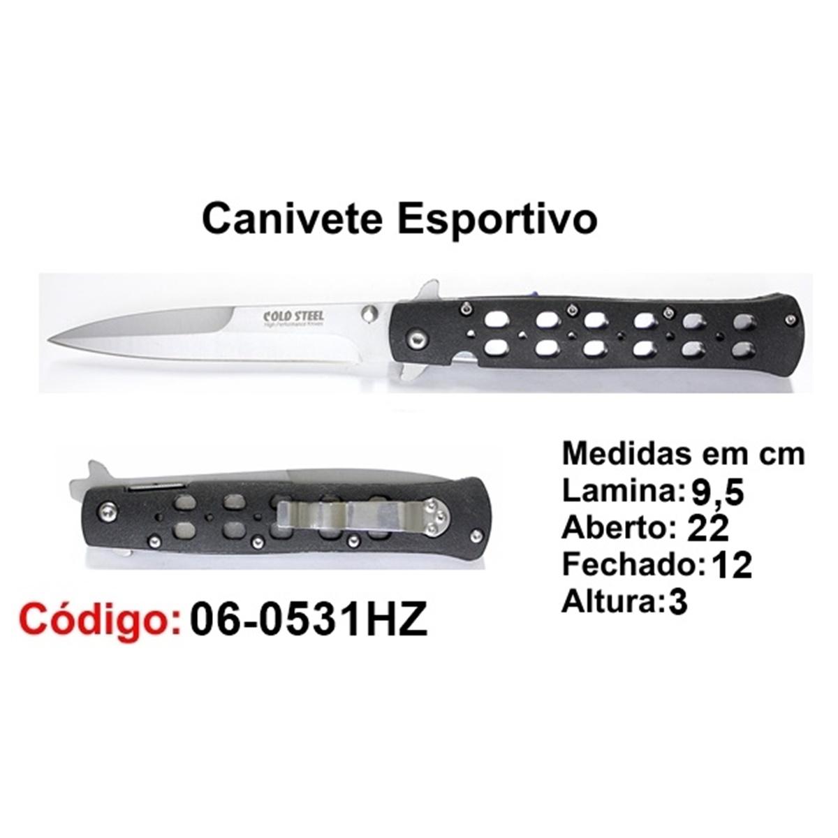 Canivete Esportivo Caça Pesca Etc. 06-0531HZ