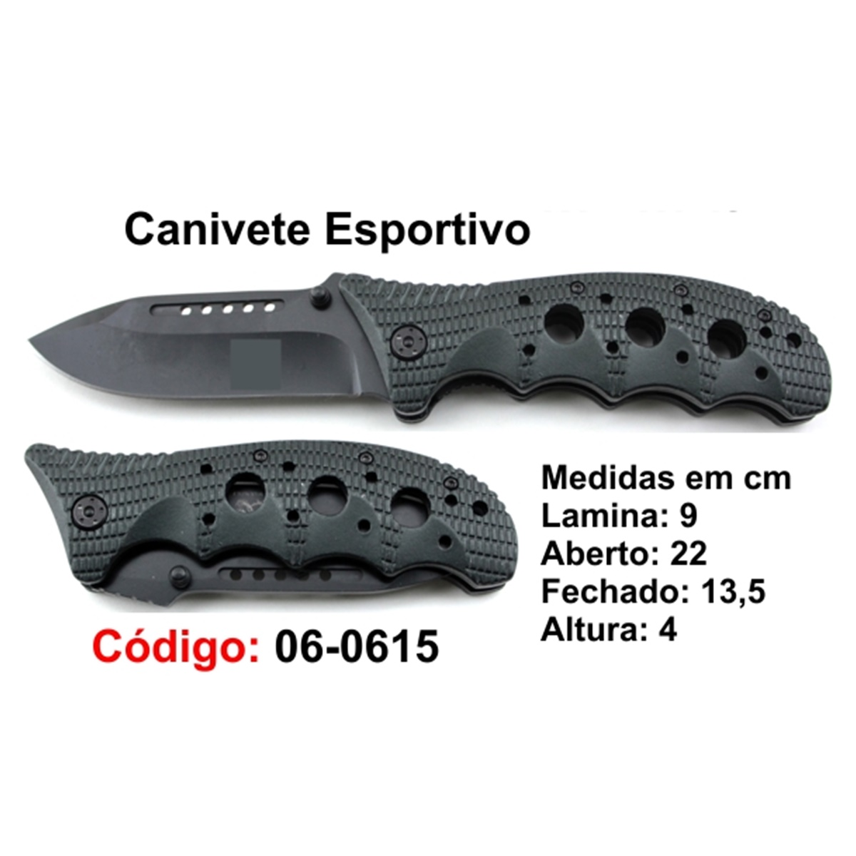 Canivete Esportivo Caça Pesca Etc. 06-0615