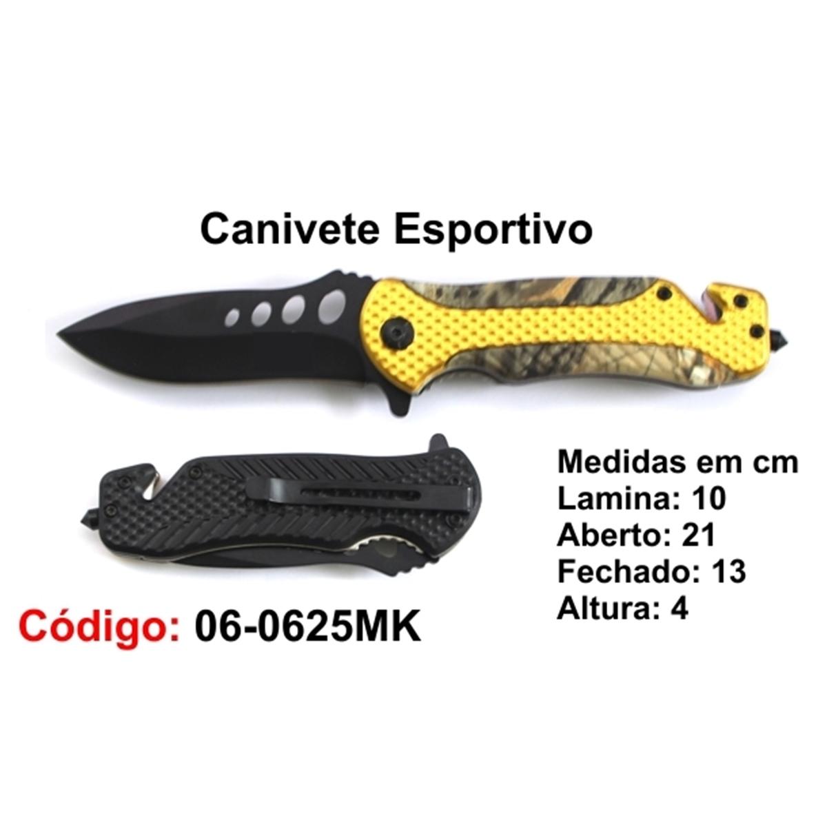 Canivete Esportivo Caça Pesca Etc. 06-0625MK