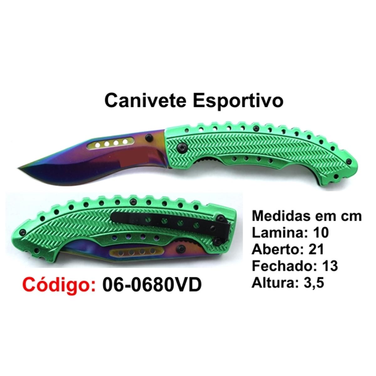 Canivete Esportivo Caça Pesca Etc. 06-0680VD