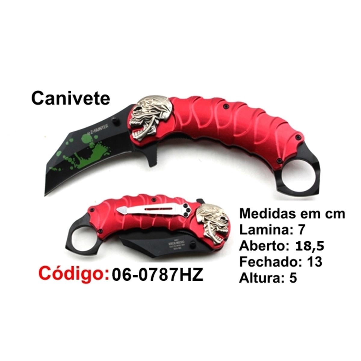 Canivete Esportivo Caça Pesca Etc. 06-0787HZ