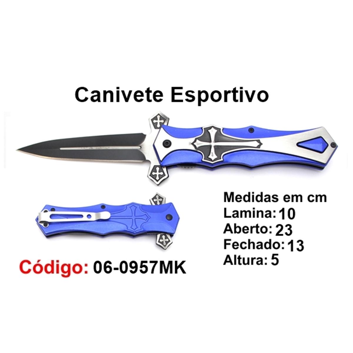 Canivete Esportivo Caça Pesca Etc. 06-0957MK