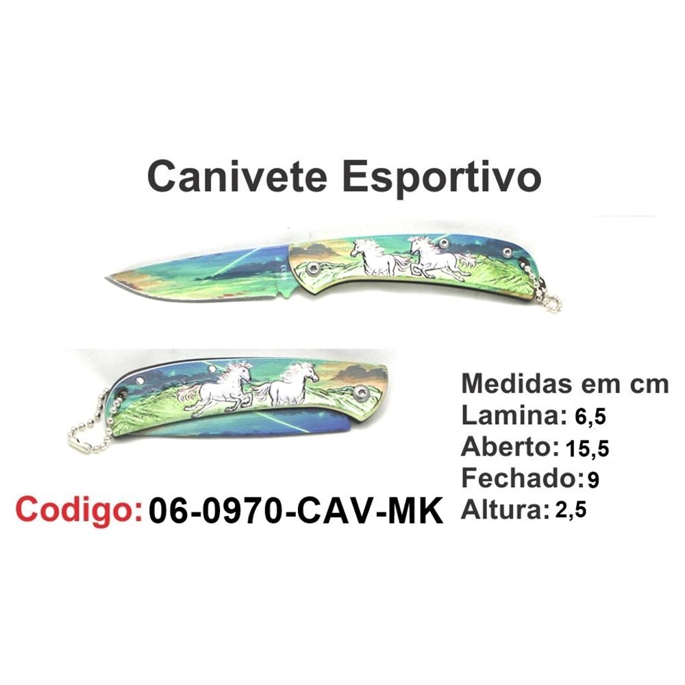 Canivete Esportivo Caça Pesca Etc. 06-0970-CAV-MK