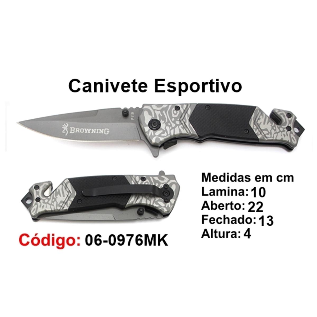 Canivete Esportivo Caça Pesca Etc. 06-0976MK