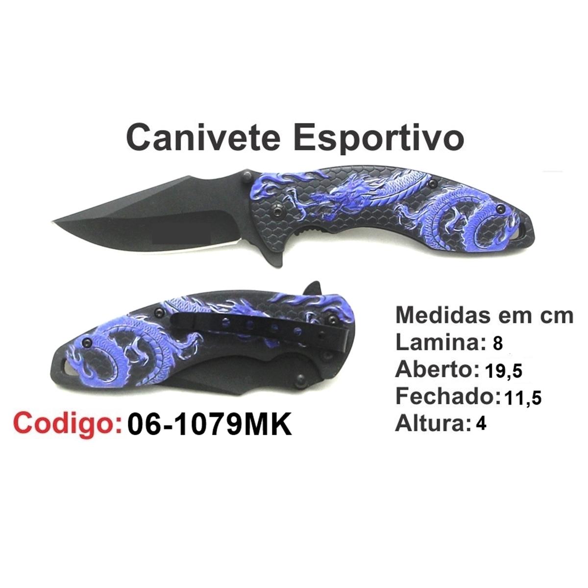 Canivete Esportivo Caça Pesca Etc. 06-1079MK